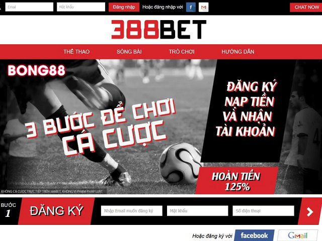 388Bet co toc do nap va rut tien cuc nhanh